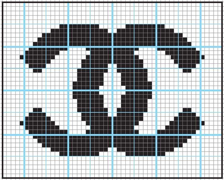 chanel logo crochet - Google zoeken