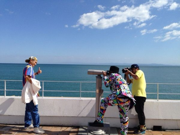 #ビューティフルカラフル #BURNDOWN #寿君_卍LINE #淡路島 #MV Photo_1&2 http://twitpic.com/echh18