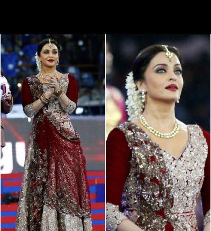 Manish Malhotra decorated Aishwarya Rai Bachchan like an angel...... ~ Sha's…