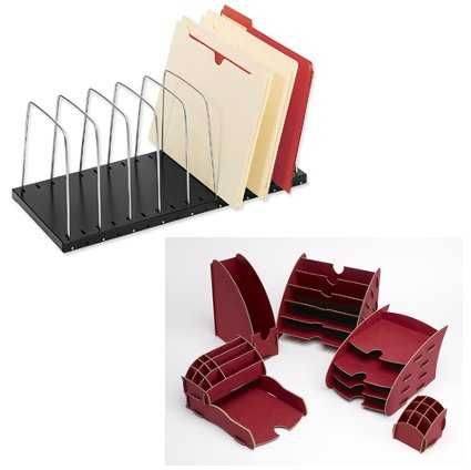 1000 images about papel y carton on pinterest diy cardboard mini books and accordion book - Organizadores escritorio ...
