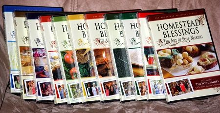 Homestead Blessings Collection (11 DVDs) 11xDVDRip   English   MP4 + PDF Guides   640 x 428   MPEG-4 ~7759 kbps   29 fps AAC   128 Kbps   44.1 KHz   2 channels   11:10:25   26.2 GB Genre: eLearning Video / Cooking Read more at https://ebookee.org/Homestead-Blessings-Collection-11-DVDs_3172552.html#QusOsVYGvohuWVFt.99
