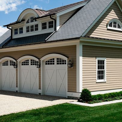 1000 images about dormers on pinterest 3 car garage for Garage with dormers