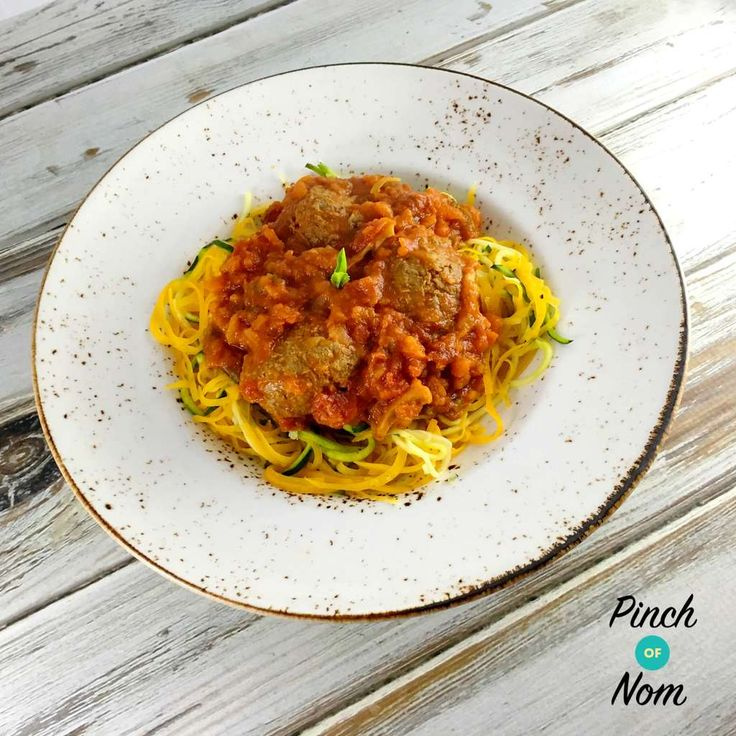 Syn Free Meatball Marinara | Slimming World