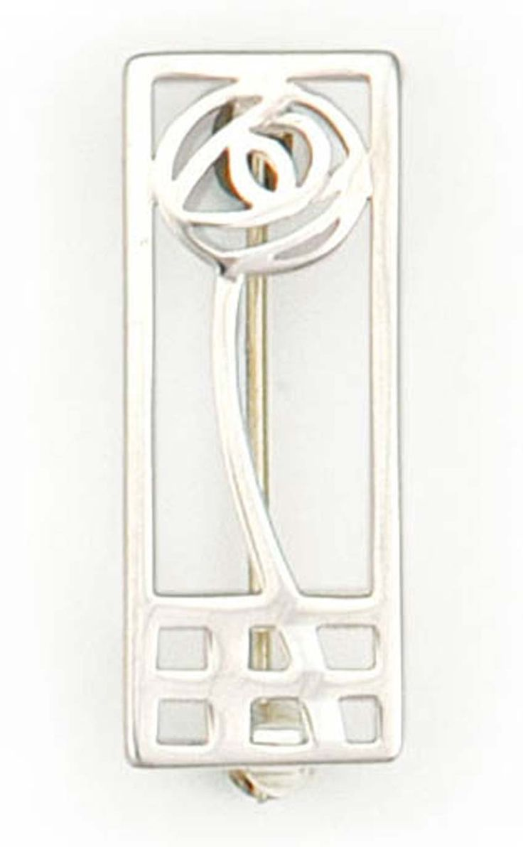 Charles Rennie Mackintosh Brooch - B421 by Scotweb Tartan Mill