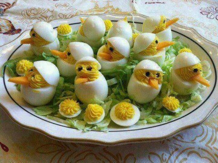 eten: gevulde eieren