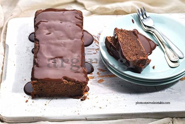 Κέικ κακάο χωρίς αυγά & βούτυρο ! |