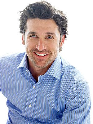 patrick dempsey..Oh my goodness, the new owner of Tully's coffee ! I knew I loved coffee for a reason ;)