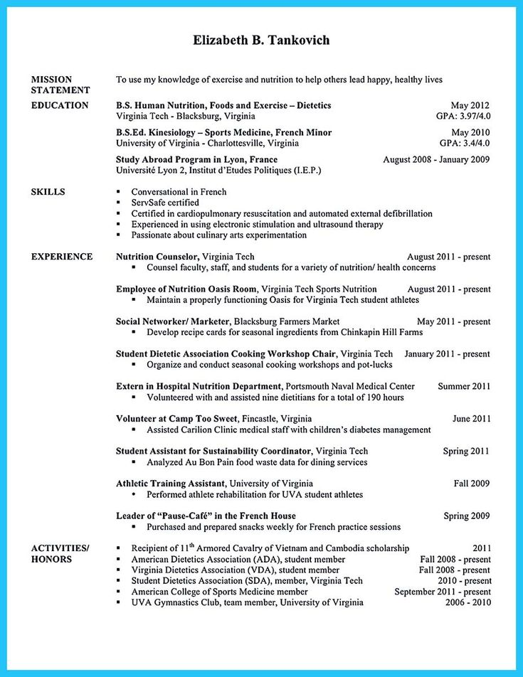 cool Writing Your Athletic Training Resume Carefully, Check more - athletic training resume