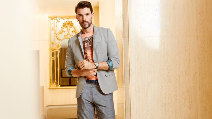 Terra Nostra - Collection printemps été 2015 #veston #lin #sport #terranostra