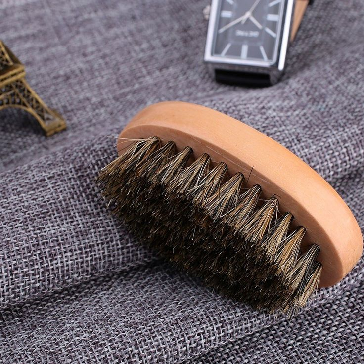 BOAR HAIR BRISTLE BRUSH This durable compact wooden brush is perfect for evenly coating your #ChinWhiskers with #BeardOil or just for a quick shaping/ grooming brush! Now available at http://ift.tt/1V5ixpa