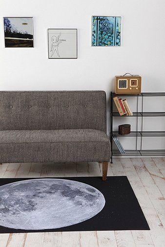 Trompe l 39 oeil indoor outdoor floor mat moon floor mats bunk bed and urban - Trompe loeil hoofd bed ...