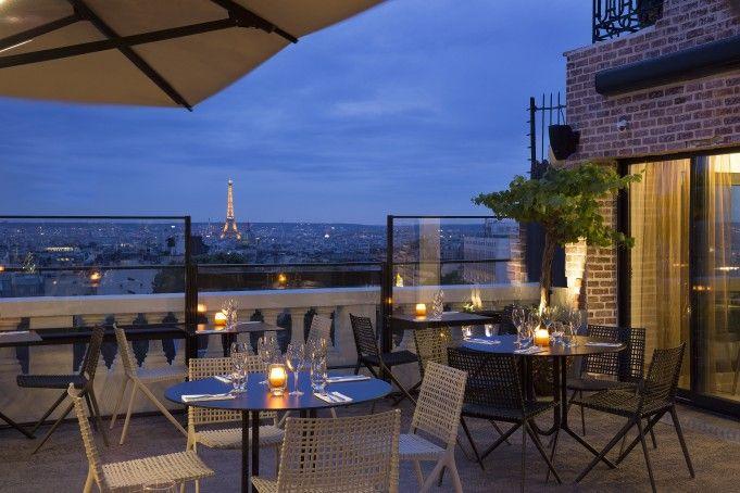 Terrass Restaurant Bar Paris rooftop