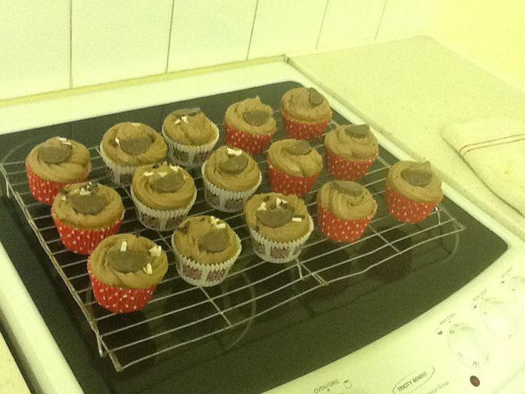 Bailey's orange cupcakes