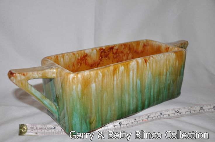 """9"""" trough Australian pottery Campbell - Blinco collection"""