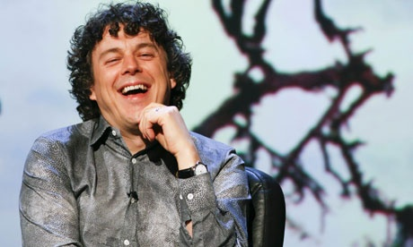 Alan Davies - British TV actor and comedian.