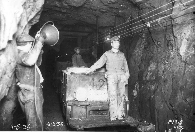 El Teniente Mine, Chile.