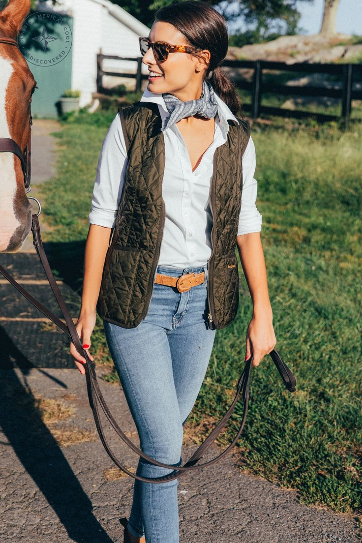 Barbour vest.