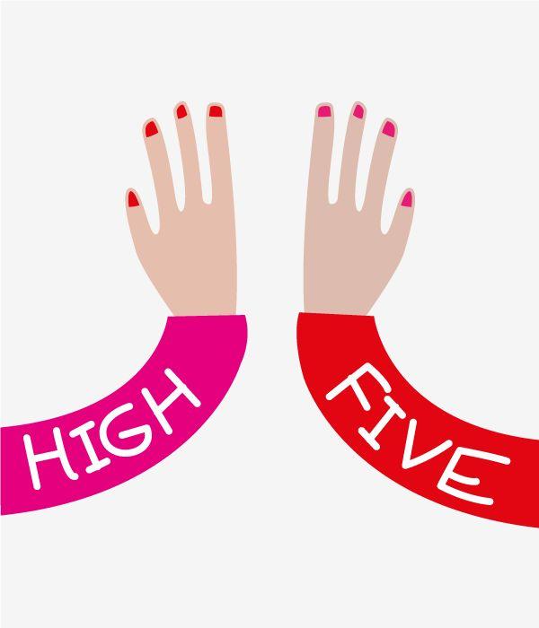 By CaroZuch High Five www.carozuch.com