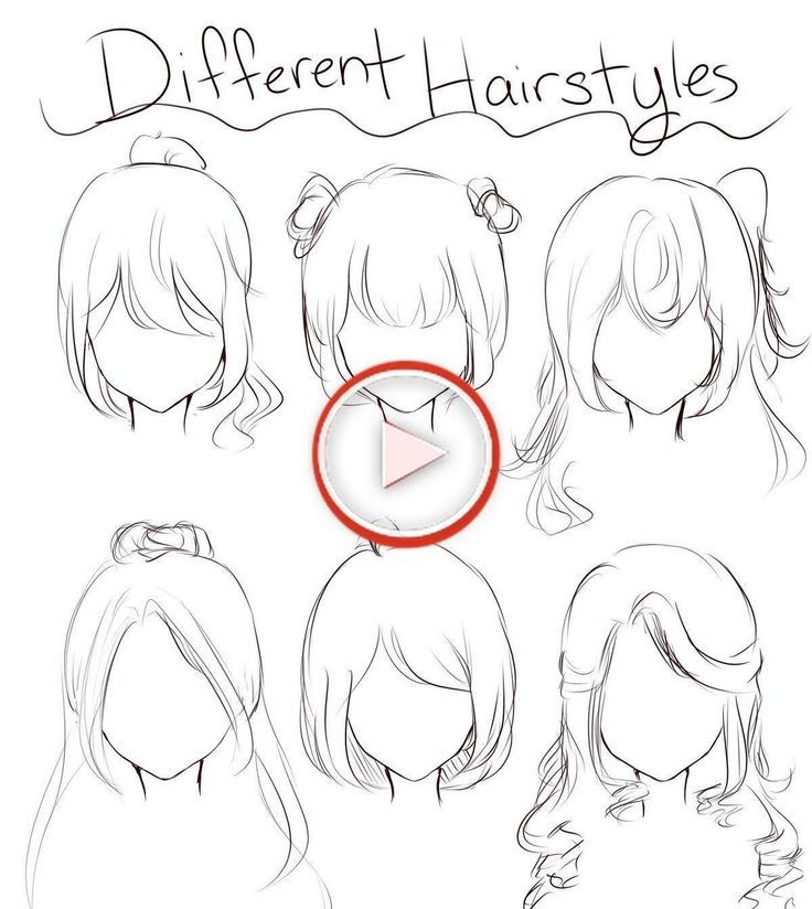 Anime Hairstyles Female Character Design In 2020 Female Anime Hairstyles Hair Reference Short Hair Drawing