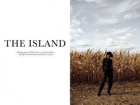 Exclusive: Jordan Van Der Vyver by Estévez + Belloso in 'The Island'