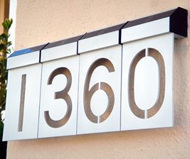 led solar house numbers each fantastic idea i hate driving in the