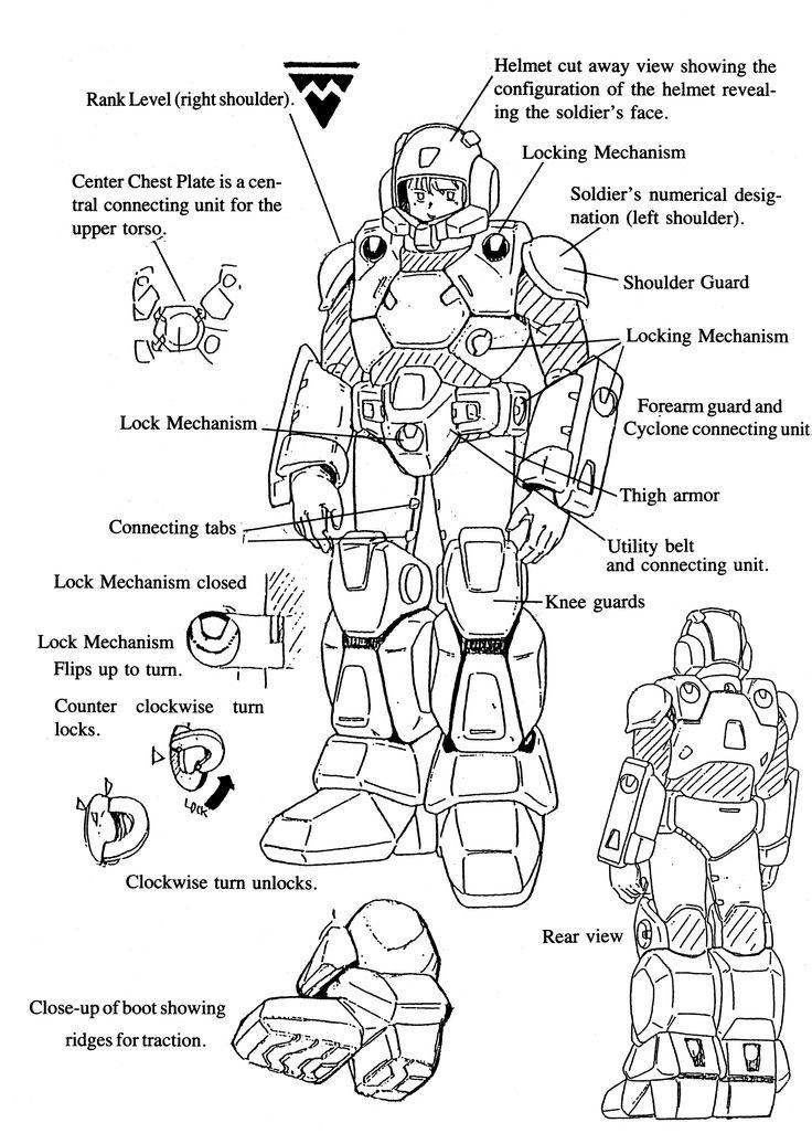 CVR3 Robotech New Generation Scifi illustration