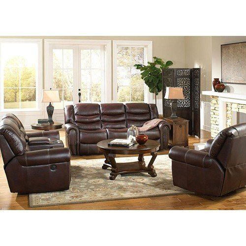 Sofa Pillows FurnitureMaxx Chocolate Chaimpin Microfiber Double Reclining Sofa Sofas