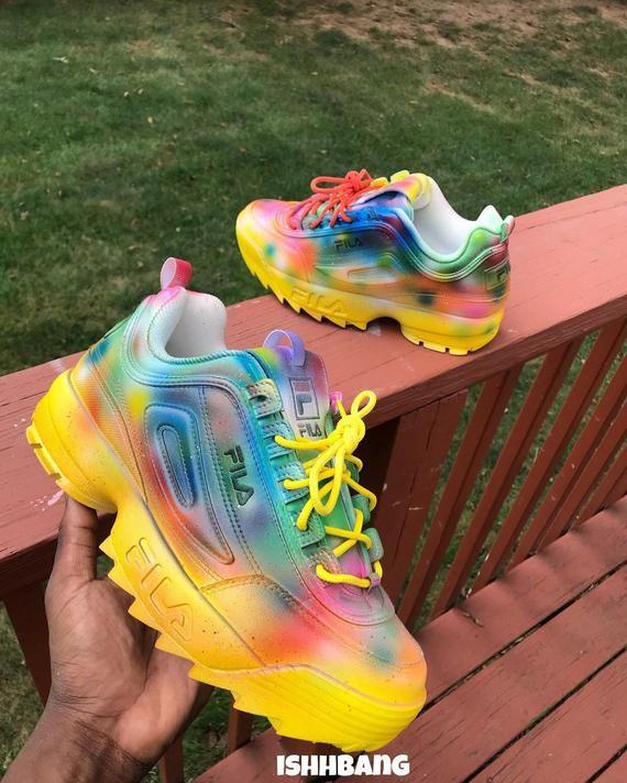 Custom Filas Multi Colored Filas You are purchasing the