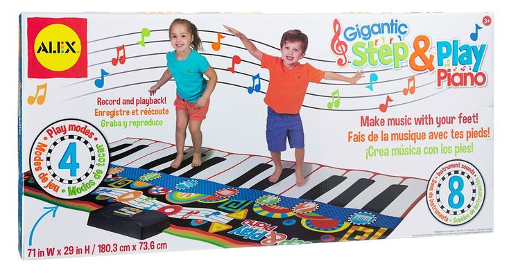 The next Mozart could be anywhere. Maybe it's your daughter or niece? With this toy, you'll easily find out. Your favorite little girl will get much needed exercise running...continue reading by clicking here --> http://bestandsmartchoice.com/2015/12/christmas-gift-ideas-girls-ages-5-7-years-old/