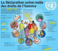 Fiche exposés : La Déclaration universelle des droits de l'homme