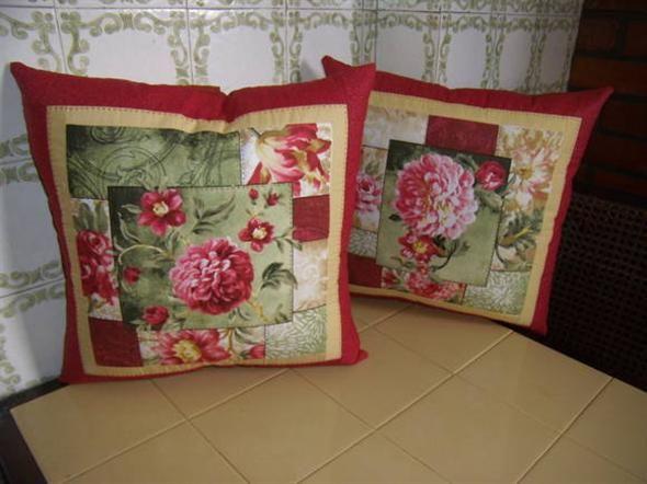 Almofada de patchwork 011