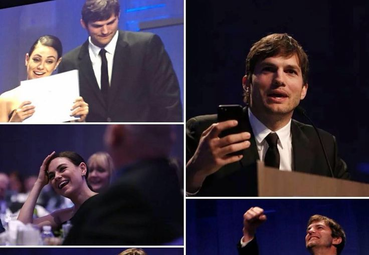 Did anyone catch this sweet headline that was everywhere this past weekend? I love when I see things like this, showing me that even in Hollywood there are real true love relationships. According to Entertainment Tonight, Ashton Kutcher was recently honored with the Robert D. Ray Pillar of Character Award at the Ron Pearson Center...