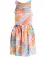 LOVE Pastel Print Cross Back Dress  £38.00