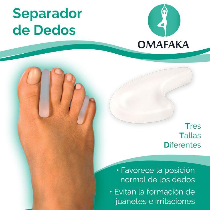 Los separadores de dedos de gel polimérico favorecen la posición natural de los dedos del pie, impidiendo la formación de juanetes y la irritación por rozamiento.  #Dedos #pies #Separadordededo #separador #caminar #zapato #cuidado #salud #pedicura #uñas #comdidad #feliz #tacones #omafaka