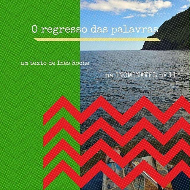 """Na rubrica """"Cá por casa"""" da #revistainominavel nº 11 a Inês conta-nos como foi o seu regresso à escrita.  https://buff.ly/2BtdNut  #revistadigital #revistaonline #revista #revistaportuguesa #portuguesemagazine #portugal #bookstagram #ler #leitura #escrita #pessoal #historiadevida  [link in bio]"""
