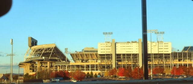Beaver Stadium in State College Pennsylvania is where the Penn State Football Team plays all of their home games. It is also the home of the Penn State Sports Museum in State College.