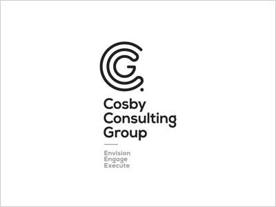 Consby consulting group logo design simple line art used for Consulting logo design
