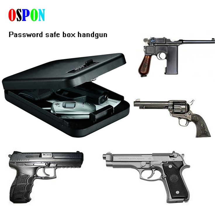 37.50$  Watch now - http://ai0tt.worlditems.win/all/product.php?id=1000003528004 - OSPON portable security box money gun digital small safe box cold-rolled steel car safe box valuables money jewelry storage box