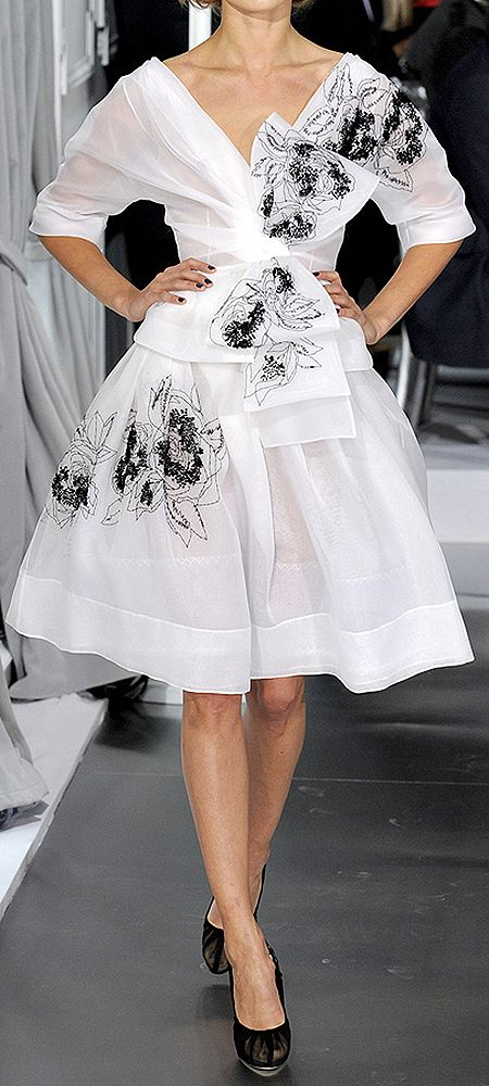 Christian Dior | Dress | Spring/Summer 2012 | French | Haute Couture
