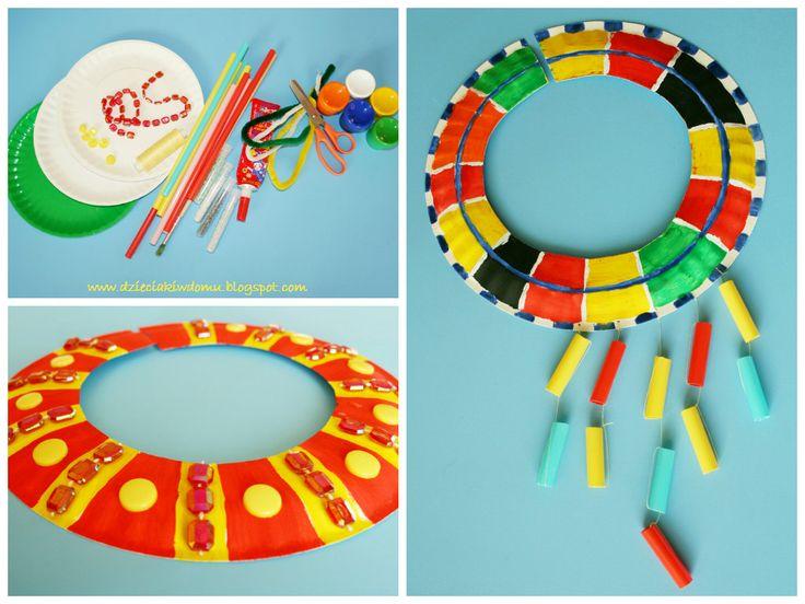 Sztuka Afryki - galeria pomysłów na prace plastyczne dla dzieci