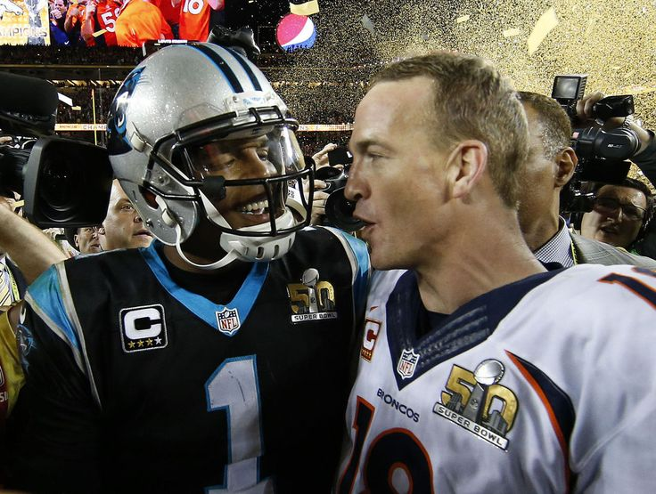 Cam Newton honors Peyton Manning on Instagram, but