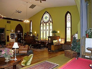 Church Converted To A Home In Goshen, Indiana. I Actually Went To A Service