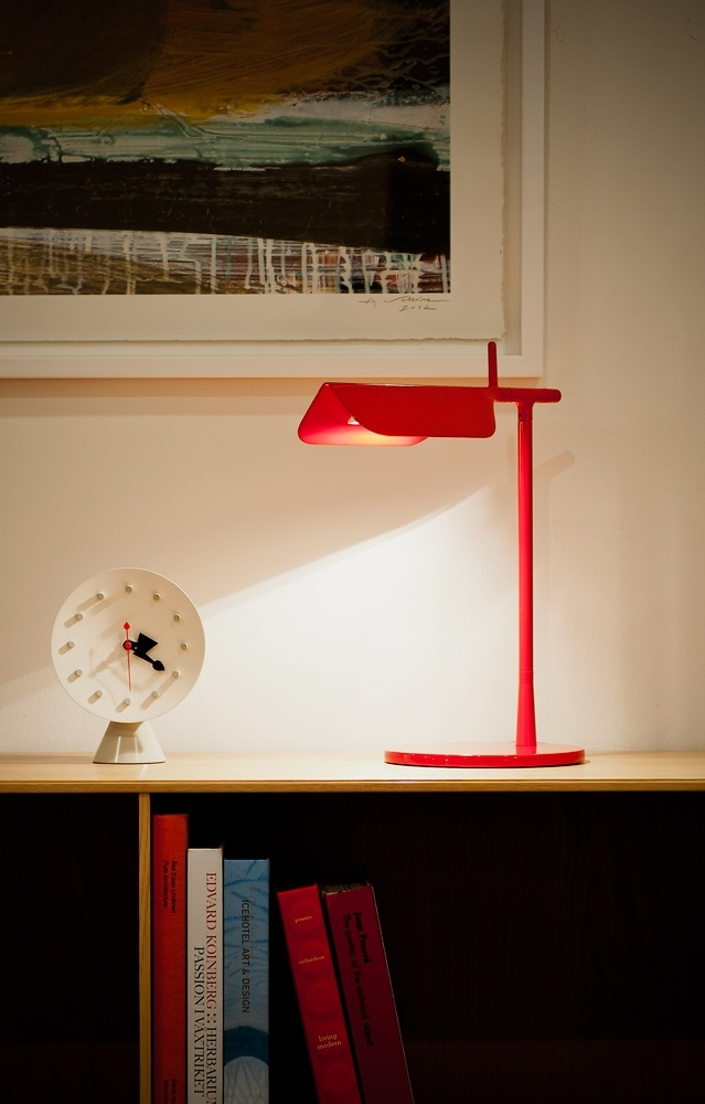 Tab T Limited Edition #table #lamp from #flos #valentines #red #heart