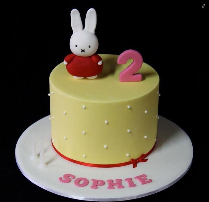 Miffy cake
