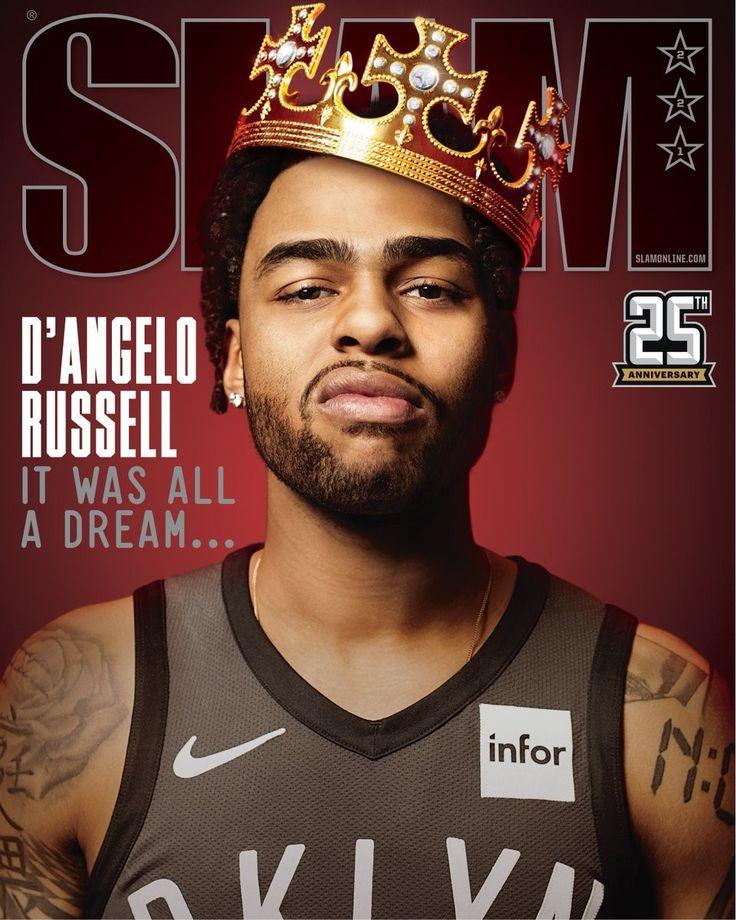 D'angelo Russell Slam magazine, Slammed, Sports magazine