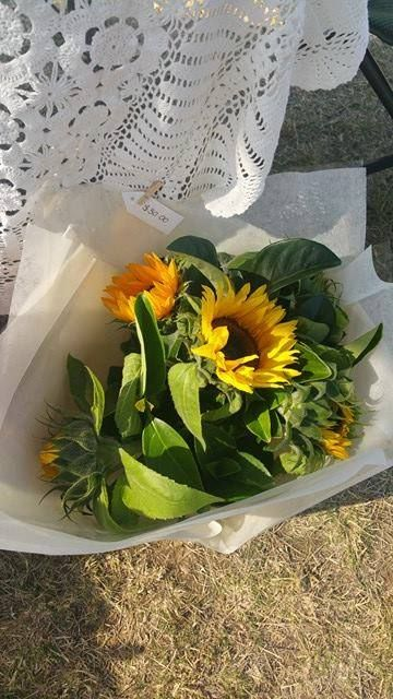 Sunflower Bouquet   Price: $30.00 excluding delivery.