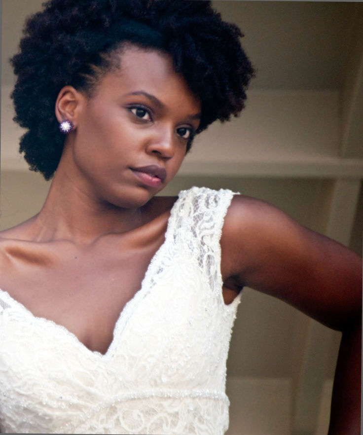 CurlsUnderstood.com: Natural hair bride