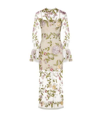 Rachel Gilbert Finley Bell Sleeve Gown available to buy at Harrods.com. Shop designer womenswear online and earn rewards points.