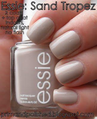 Sand Tropez best nude polish I have used yet