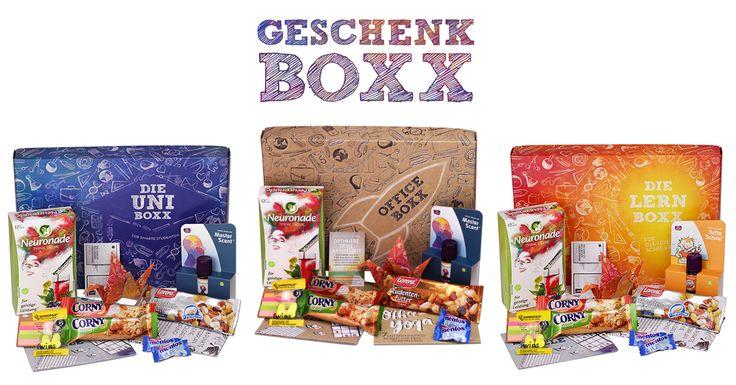 Tolle,innovative Geschenkideen. Start-up mit Erfolgsrezept: Originelle Geschenkboxen für Schüler und Studenten und alle Kopfarbeiter